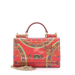 Sicily Wallet on Chain Printed Patent Mini