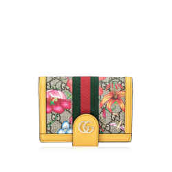 Pre-Owned Gucci GG Ophidia Flora Passport Case