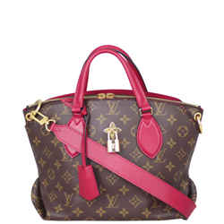 Louis Vuitton Flower Zipped Tote Pm Monogram