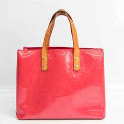 Louis Vuitton Monogram Vernis Reade PM M9132F Women's Handbag Framboise BF529056