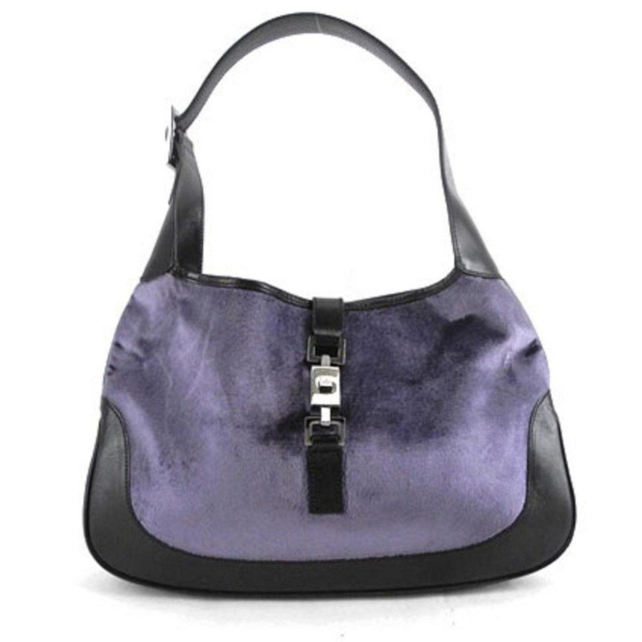 Bicolor Felt Jackie O 222289 Hobo Bag