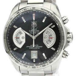 Polished Tag Heuer Grand Carrera Calibre 17 Rs Automatic Watch Cav511a Bf512114