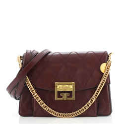 GV3 Flap Bag Quilted Leather Small