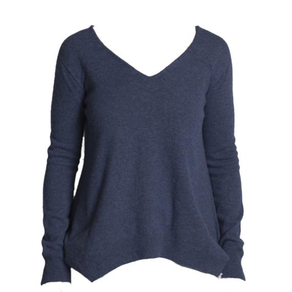 The Row V-neck Cashmere Sweater