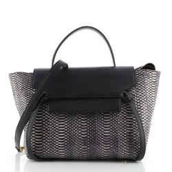 Belt Bag Python Mini
