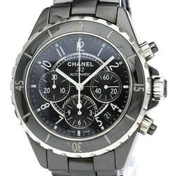 Polished CHANEL J12 Chronograph Ceramic Automatic Mens Watch H0940 BF534611