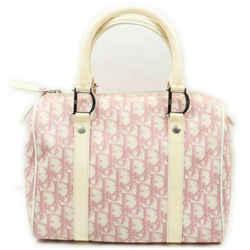 Christian Dior Pink Monogram Trotter Oblique Boston 861556