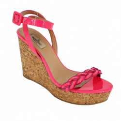 Valentino | Hot Pink Patent Sandals