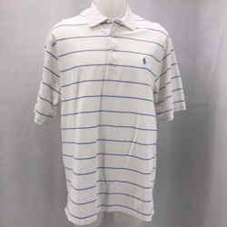 Polo Ralph Lauren White Collared Shirt Large