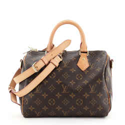 Speedy Bandouliere Bag Monogram Canvas 25