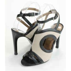 Hermes Rafaella Sandal - Black/BrownHermes Rafaella Sandal - Black/Brown