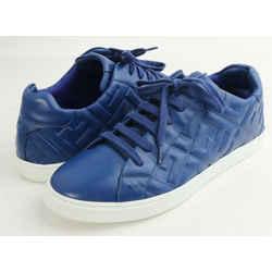 Fendi Ff-Motif Low-Top Sneakers