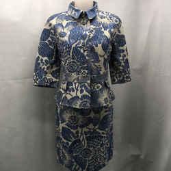 Emanuel Ungaro Blue Skirt Set 6