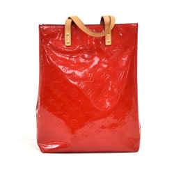 Louis Vuitton Reade MM Red Vernis Leather Handbag