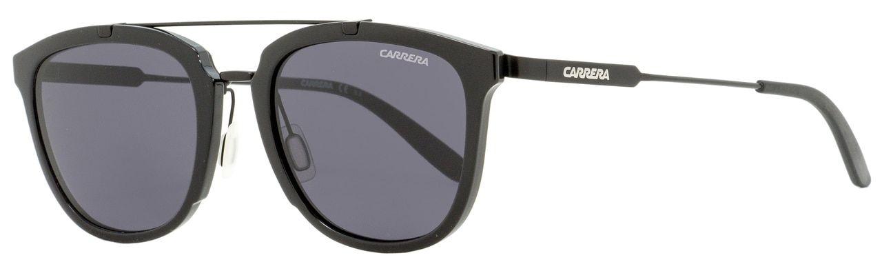 Carrera Mens 150//s Rectangular Sunglasses BLACK 55 mm