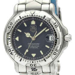 Polished Tag Heuer 6000 Chronometer Steel Automatic Mens Watch Wh5213 Bf511651