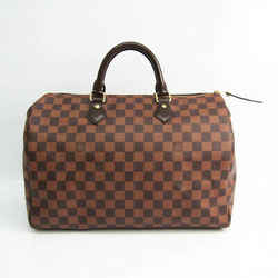 Louis Vuitton Damier Speedy 35 N41523 Women's Handbag Ebene BF528433