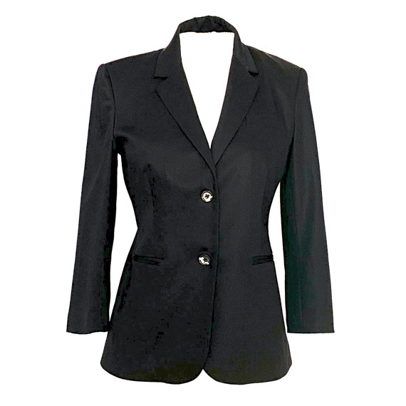 "The Row ""new Schoolboy"" Wool-blend Blazer In Black 6"