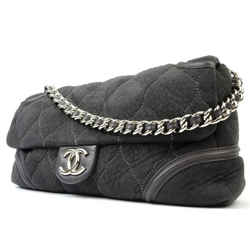 Chanel       Extra Large Maxi Quilted Shearling Chain Flap 216021
