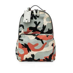 Pre-Owned Valentino Garavani Camouflage Backpack