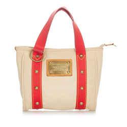 Brown Louis Vuitton Antigua Cabas MM Bag
