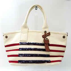 Marc Jacobs Saint-Tropez M0007857 Women's Cotton Canvas,Leather Tote Ba BF531471