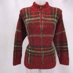 Ralph Lauren Red Wool Sweater Medium