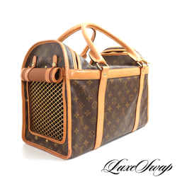 Louis Vuitton Monogram Canvas Pet Carrier