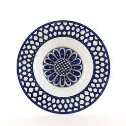 Bleus D'ailleurs Soup Bowl Printed Porcelain