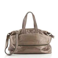 Zip It Satchel Leather Medium