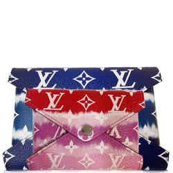 Louis Vuitton Kirigami Pochette Medium/small Monogram Escale Blue/red