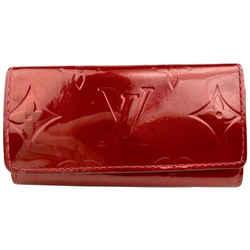 Louis Vuitton Red Monogram Vernis Multicles 4 Key Holder 8L102