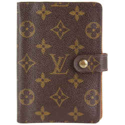 Louis Vuitton Monogram Small Ring Agenda PM Diary Cover 6LVS1214
