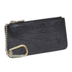 Vintage Authentic Louis Vuitton Black Epi Leather Leather Epi Coin Purse France