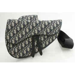 Dior Oblique Maxi Saddle Bag