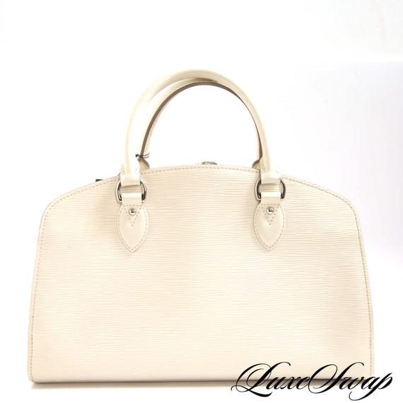 Louis Vuitton Pont Neuf Cream Epi Leather Bag