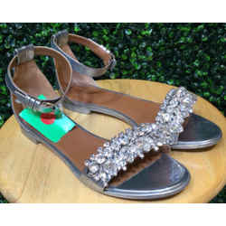 Givenchy Size 39/9 Silver Sandals