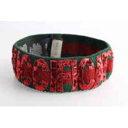 Gucci Green/Red Sequin Headband