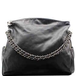 CHANEL  Large Ultimate Soft Leather Hobo Bag Black