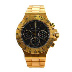 Diagono Professional Pro Terra Chronograph Automatic Watch Yellow Gold 40