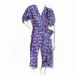 "Marc Jacobs ""Wrap Dress"" Floral Print Dress"