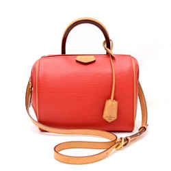 Louis Vuitton Doc BB Red Coquelicot Epi Leather Hand Bag + Strap LO072