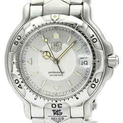 Polished TAG HEUER 6000 Pro 200M Steel Quartz Mid Size Watch WH1113 BF509171