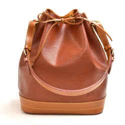Vintage Louis Vuitton Noe Large Brown Bicolor Epi Leather Shoulder Bag LU448
