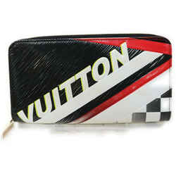Louis Vuitton Ultra Rare Black Epi Leather Race Zippy Long Wallet 862967