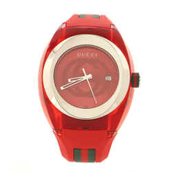 Sync Quartz Watch Stainless Steel with Plexiglass and Rubber 46