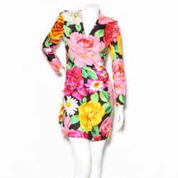 Lacroix Floral Long Sleeve Dress