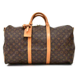 Vintage Louis Vuitton Keepall 50 Bandouliere Monogram Canvas Travel Bag LT658