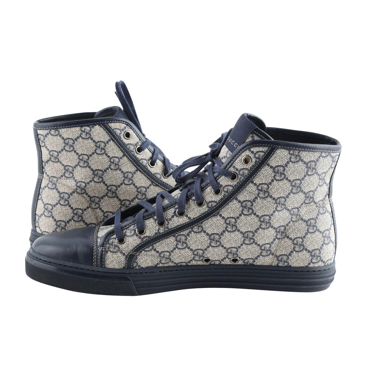 Gucci Tessuto Gg Supreme High Tops | LePrix