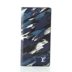 Brazza Wallet Limited Edition Brushstroke Camouflage Canvas